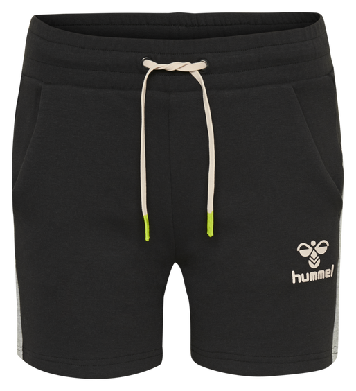 hmlNIRVANA SHORTS, BLACK, packshot
