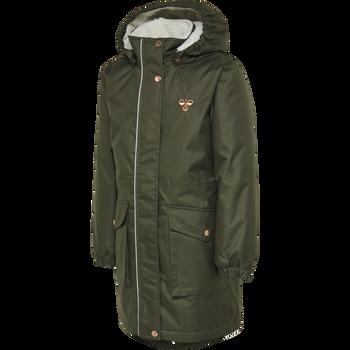 hmlLISE COAT, FOREST NIGHT, packshot