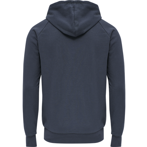 hmlISAM ZIP HOODIE, BLUE NIGHTS, packshot