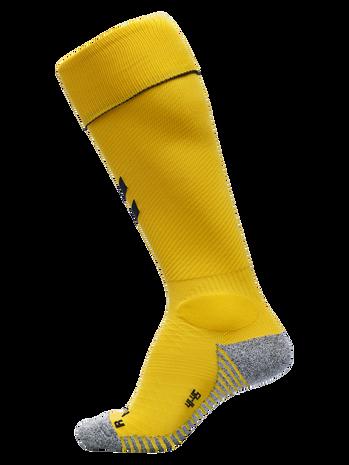PRO FOOTBALL SOCK, SPORTS YELLOW/BLACK, packshot