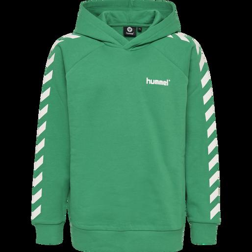 hmlSOLO HOODIE, DEEP GREEN, packshot