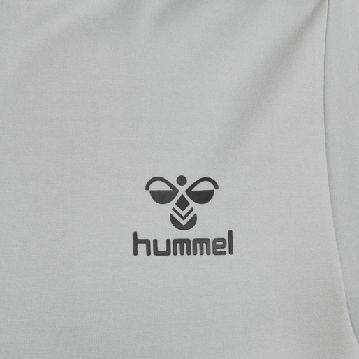 hmlLAURI HOODIE S/L, QUARRY, packshot