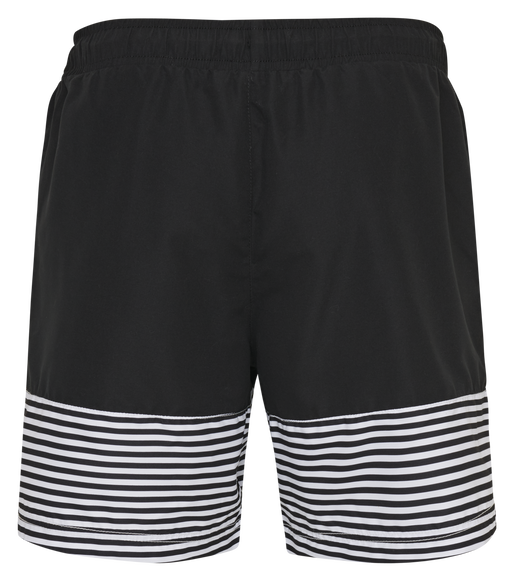 hmlCHASE BOARD SHORTS, BLACK, packshot