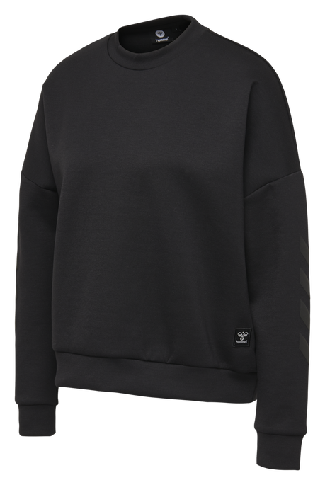 hmlESSI SWEATSHIRT, BLACK, packshot