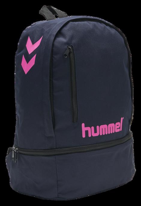 hmlACTION BACK PACK, MARINE/DIVA PINK, packshot