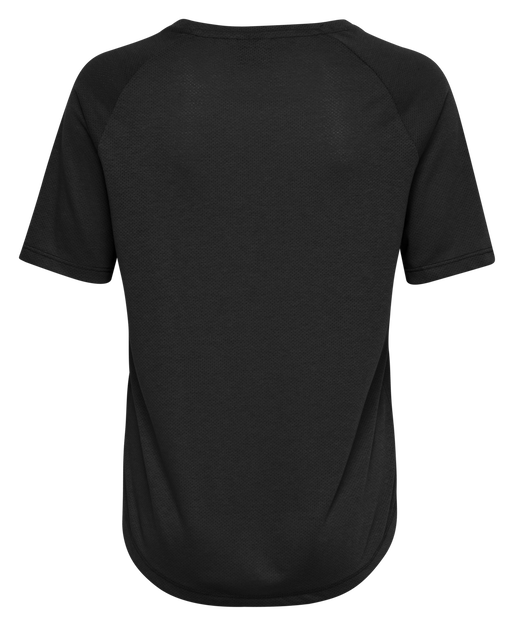 hmlVANJA T-SHIRT S/S, BLACK, packshot