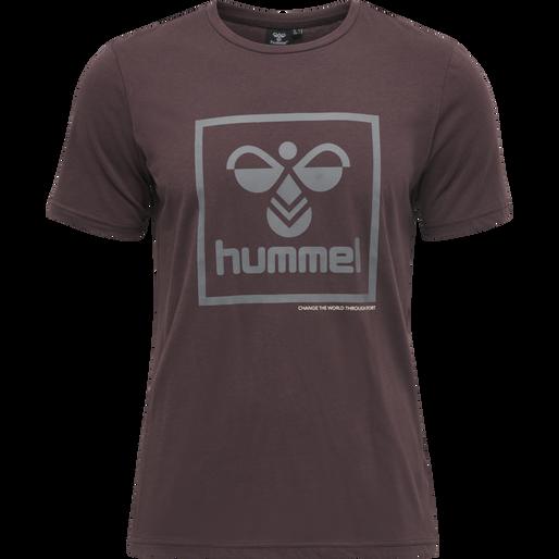 hmlISAM T-SHIRT, FUDGE , packshot