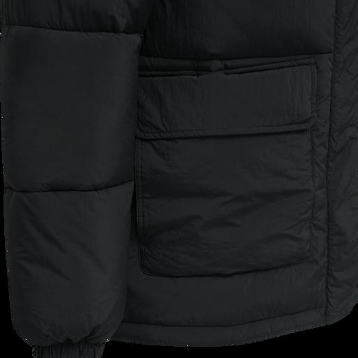 hmlANDREAS PUFFA JACKET, BLACK, packshot