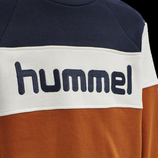 hmlCLAES SWEATSHIRT, BOMBAY BROWN, packshot
