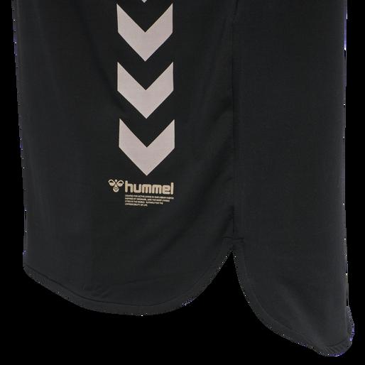 hmlMARLEY T-SHIRT, BLACK, packshot