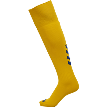 hmlPROMO FOOTBALL SOCK, SPORTS YELLOW/TRUE BLUE, packshot