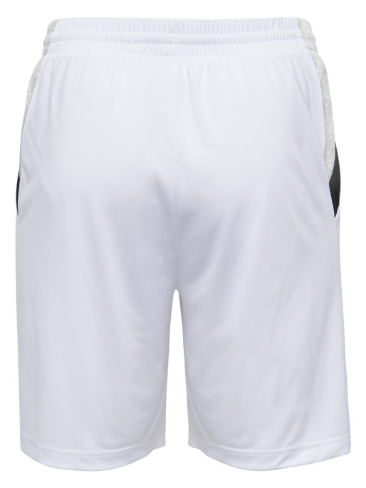 TECH MOVE KIDS POLY SHORTS, WHITE, packshot
