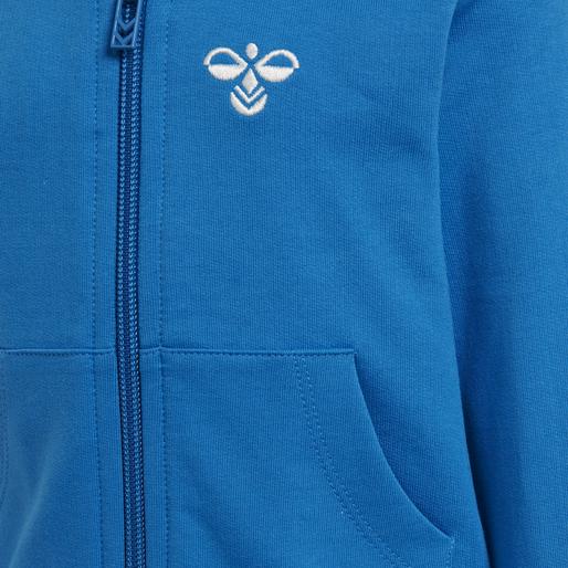 hmlJUNO ZIP JACKET, DIRECTOIRE BLUE, packshot