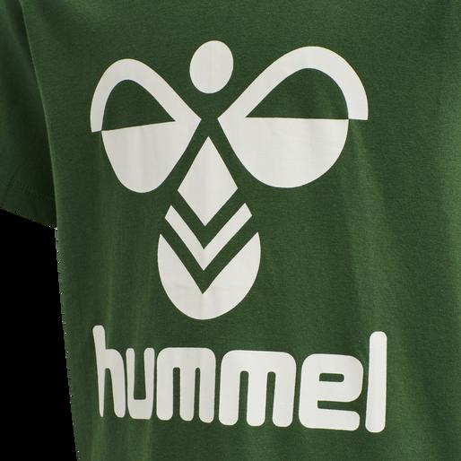 hmlTRES TEE SHIRT S/S, GREENER PASTURES, packshot