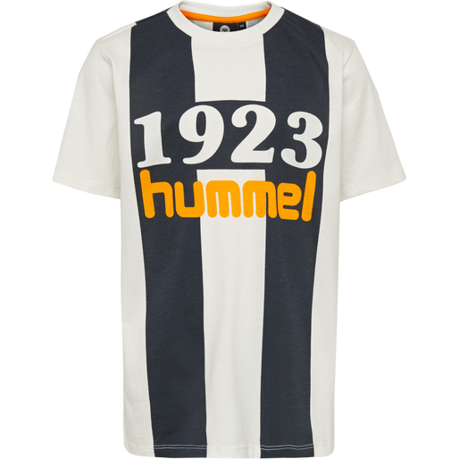 hmlHUNTLY T-SHIRT S/S, WHISPER WHITE, packshot