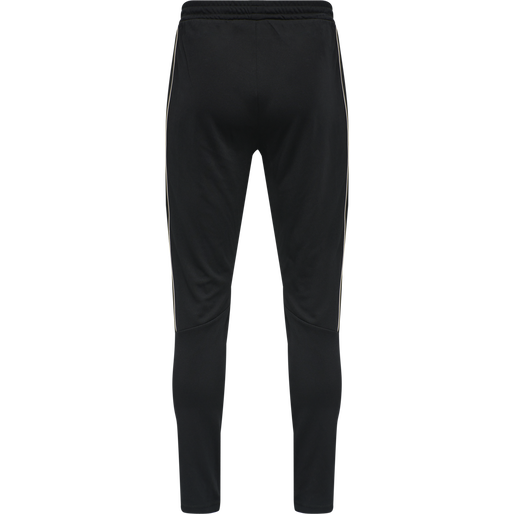 hmlAMOS TAPERED PANTS, BLACK, packshot