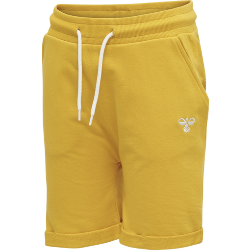 HMLEGGERT SHORTS, GOLDEN ROD, packshot