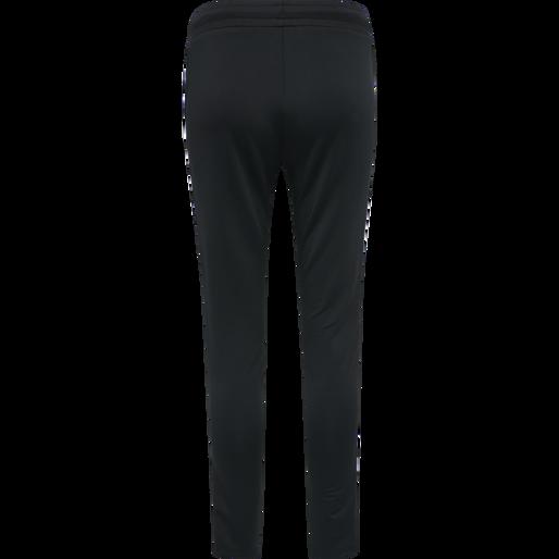 hmlNELLY 2.0 TAPERED PANTS, BLACK, packshot
