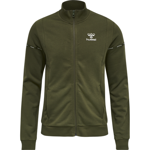 HMLMELAMOUS ZIP JACKET, FOREST NIGHT, packshot