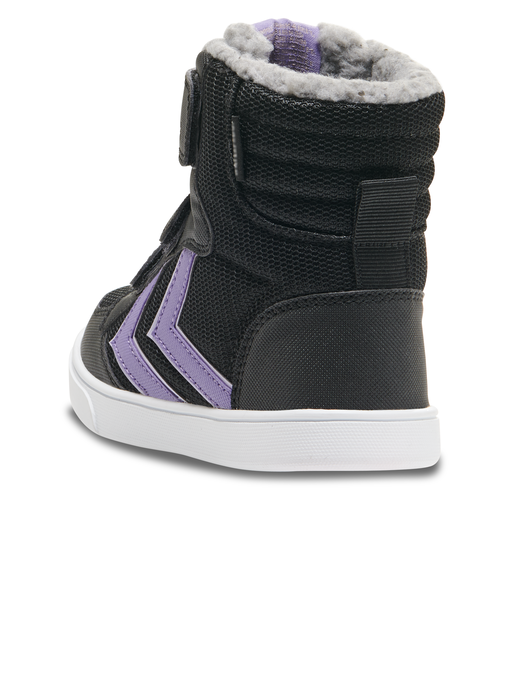 STADIL POLY BOOT MID JR, BLACK/ASTER PURPLE, packshot
