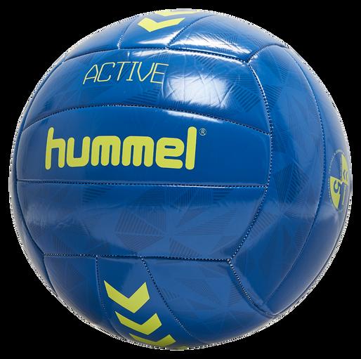 hmlACTIVE VOLLEY BALL, TRUE BLUE/SULPHUR SPRING, packshot