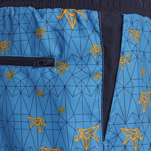 hmlEVAN BOARD SHORTS, BRILLIANT BLUE, packshot