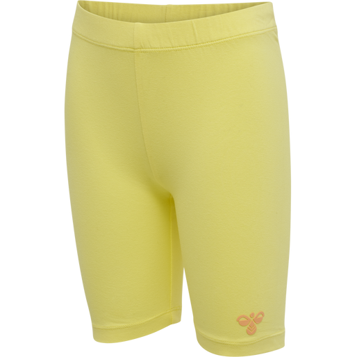 hmlSUNSHINE TIGHT SHORTS, LIMELIGHT, packshot