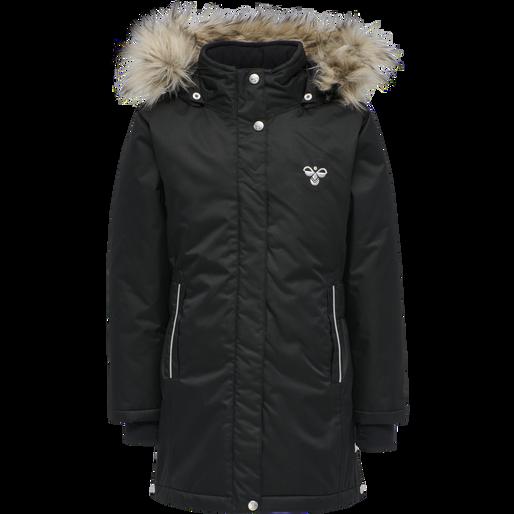 hmlMARTHA COAT, BLACK, packshot