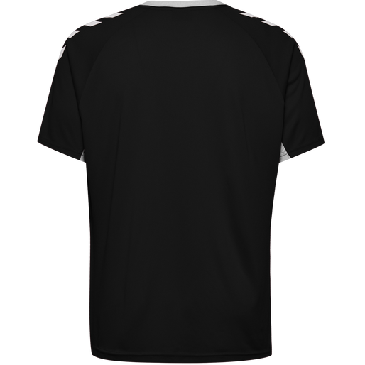 CORE KIDS TEAM JERSEY S/S, BLACK, packshot