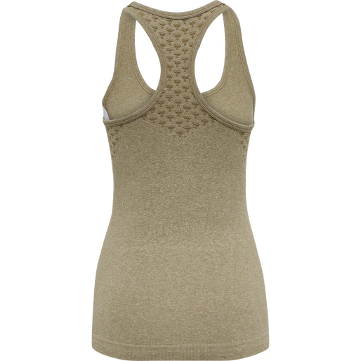 CLASSIC BEE CI SEAMLESS TOP, ANTIQUE BRONZE MELANGE, packshot