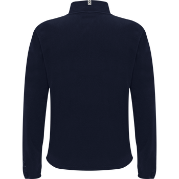 hmlNORTH FULL ZIP FLEECE JACKET, MARINE, packshot