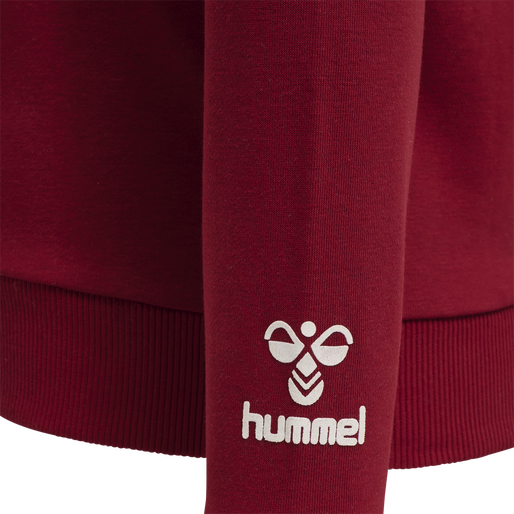 HMLKAIKA SWEAT SHIRT, VELVET CAKE, packshot