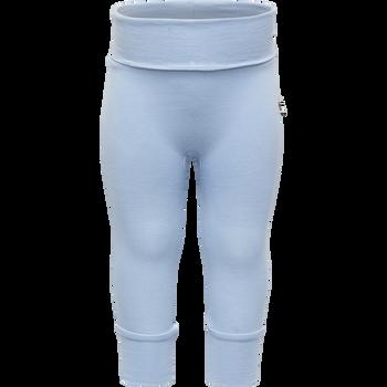 HMLBABY PANTS, BLUE FOG, packshot
