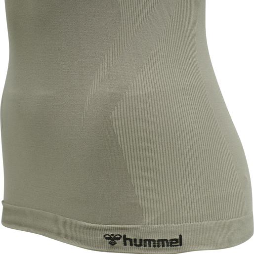 hmlTIF SEAMLESS TOP, VETIVER, packshot