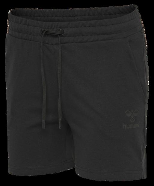hmlNICA SHORTS, BLACK, packshot