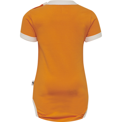 hmlHEAVEN BODY S/S, SUN ORANGE, packshot