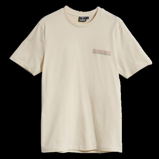 hmlCHRISTOFFER T-SHIRT, BONE WHITE, packshot