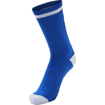 ELITE INDOOR SOCK LOW, TRUE BLUE/WHITE, packshot