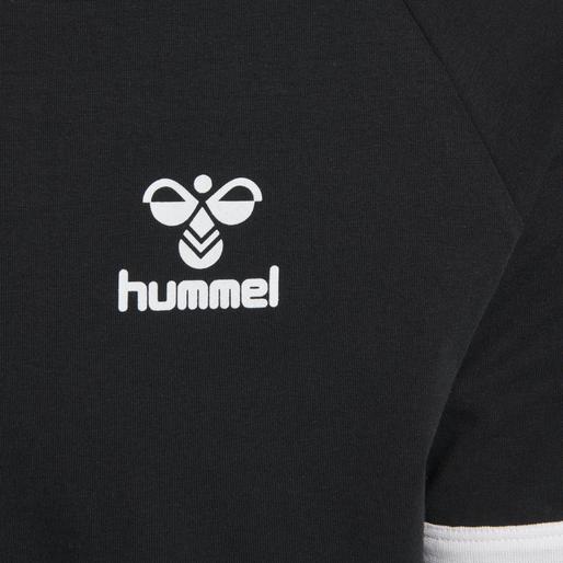 hmlJIMMY T-SHIRT S/S, BLACK, packshot