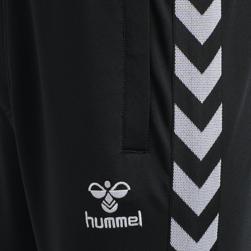 hmlNATHAN 2.0 TAPERED PANTS, BLACK, packshot