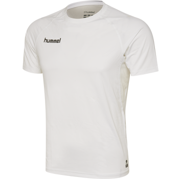 HUMMEL FIRST PERFORMANCE JERSEY S/S, WHITE, packshot