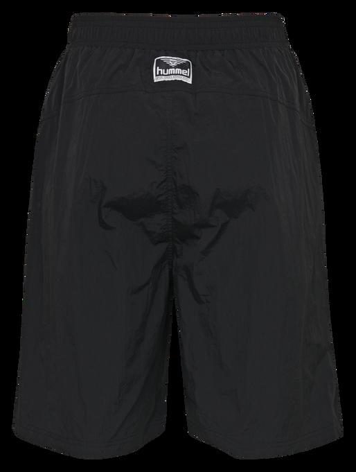hmlVIND LONG SHORTS, BLACK, packshot
