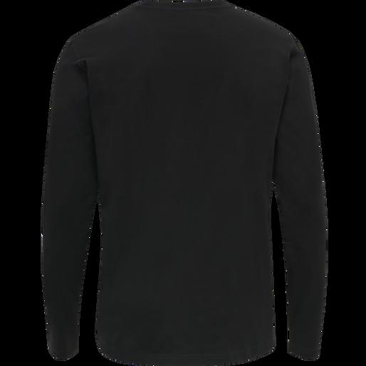 ASTRALIS T-SHIRT L/S, BLACK, packshot
