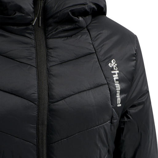 hmlVEGA COAT, BLACK, packshot