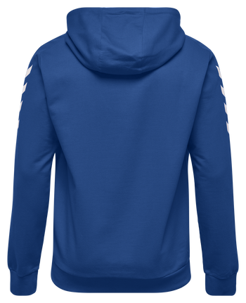 CORE COTTON HOODIE, TRUE BLUE, packshot