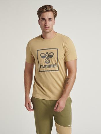 hmlISAM T-SHIRT, LARK, model