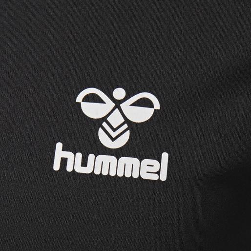 hmlEINO T-SHIRT S/S, BLACK, packshot