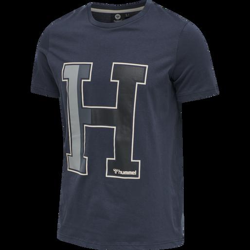 hmlLANEWAY T-SHIRT, BLUE NIGHTS, packshot