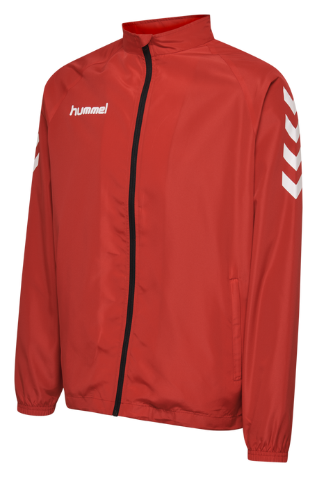 CORE KIDS MICRO ZIP JACKET, TRUE RED, packshot