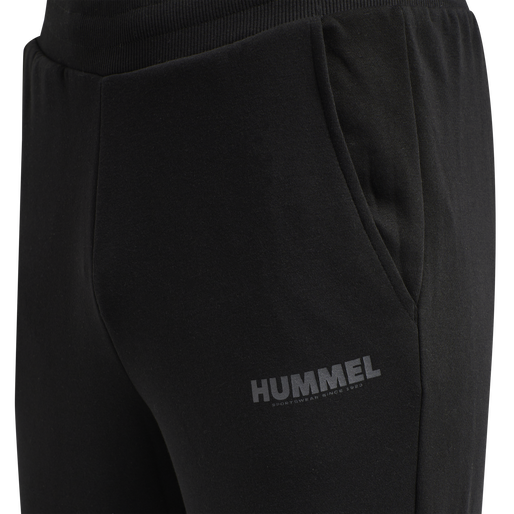 hmlLEGACY TAPERED PANTS, BLACK, packshot